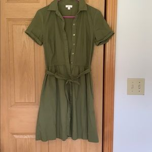 Army Green Charming Charlie Dress